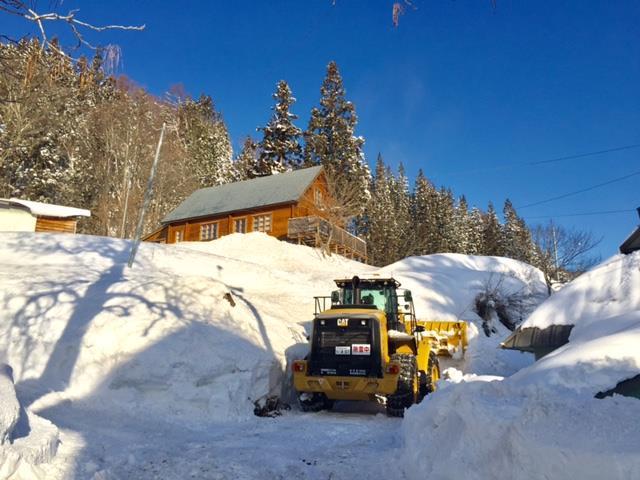 除雪のイメージ