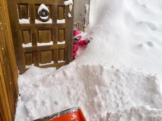 豪雪地帯へ移住 玄関