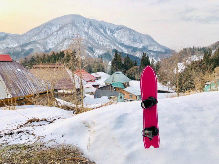 来季選びのスノーボード